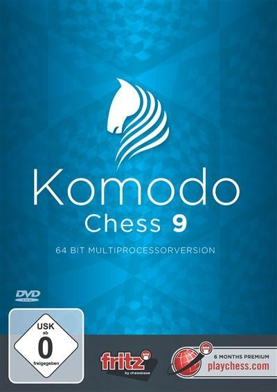 Komodo Chess 9 - Software DVD - Chess-House