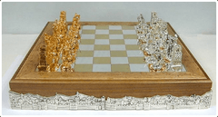 Large Sterling Silver Biblical Chess Set - Chess Set - Chess-House