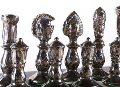 Large Vintage Elegant Chess Set - Chess Set - Chess-House