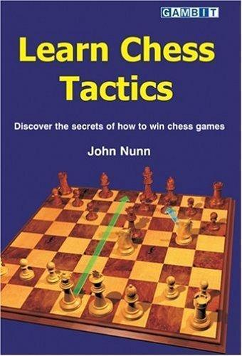 Learn Chess Tactics - Nunn - Book - Chess-House