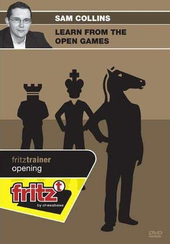 Learn From the Open Games - Collins - Software DVD - Chess-House
