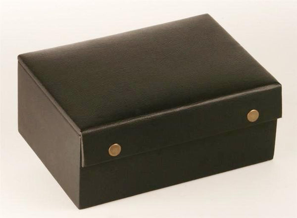 "Leather Styled Chess Box (for most 4 to 4.5"" pieces) - Box - Chess-House"
