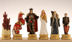 Legend of King Arthur Chess Pieces - Piece - Chess-House