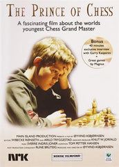 Magnus Carlsen - The Prince of Chess (DVD) - PAL Version - Movie DVD - Chess-House