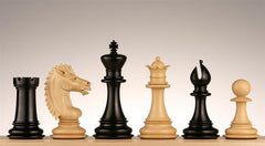 "Majestic Chess Pieces, 4"" Ebony - Piece - Chess-House"