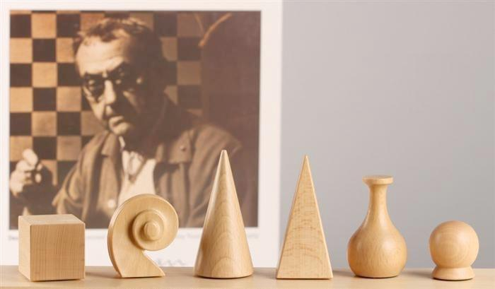 Man Ray Chess Pieces