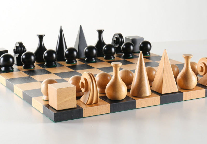 Man Ray Chess Set - Board and Pieces