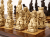 Mandarin Chess Pieces by Berkeley - Russet Brown - Piece - Chess-House