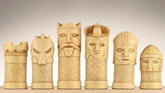 Masked Chess Pieces - SAC Antiqued - Piece - Chess-House