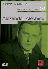 Master Class Vol 3: Alexander Alekhine - Software DVD - Chess-House