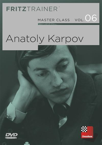 Master Class Vol 6: Anatoly Karpov - Software DVD - Chess-House