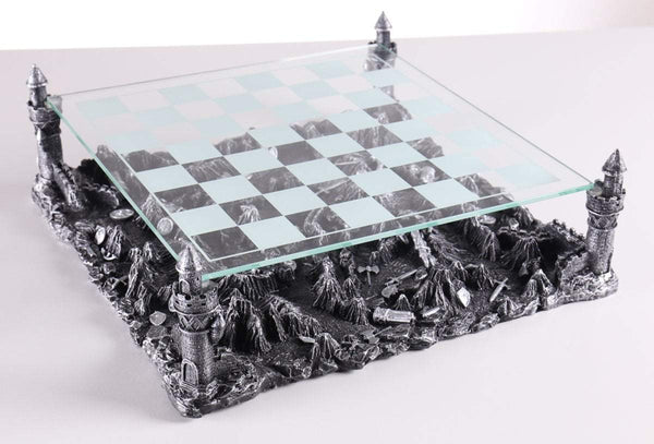 Medieval Knights 3D Chess Board Board