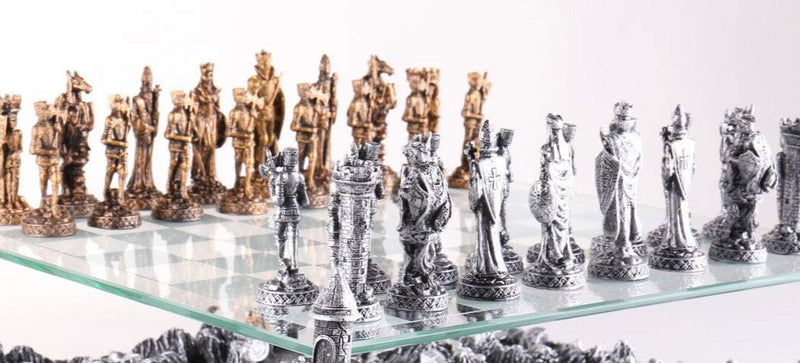 Medieval Knights Chess Pieces