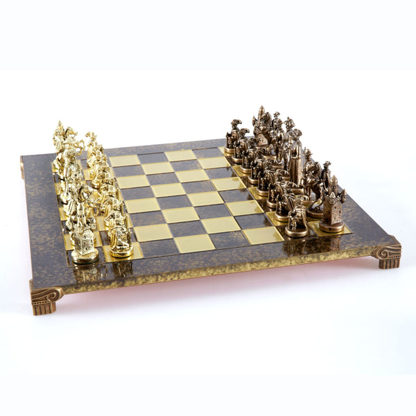 Medieval Knights Chess Set - 17""