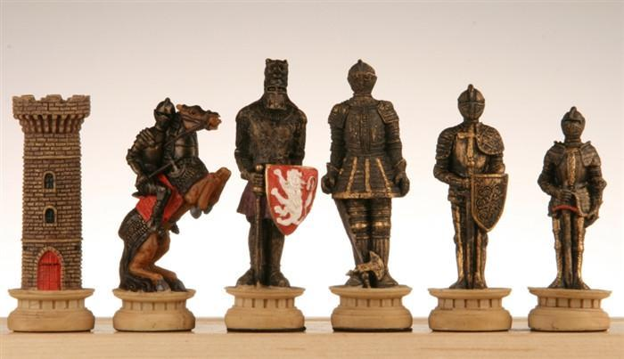 Medieval Times Chess Pieces III -  Chess Pieces