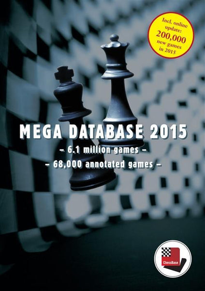 Mega Database 2015 (DVD) - Software - Chess-House