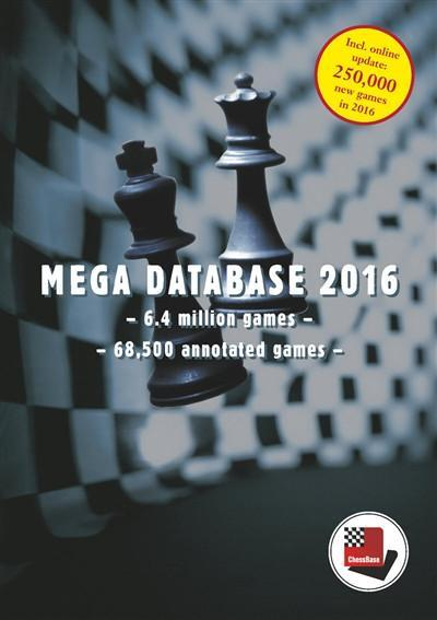 Mega Database 2016 (DVD) - Software - Chess-House