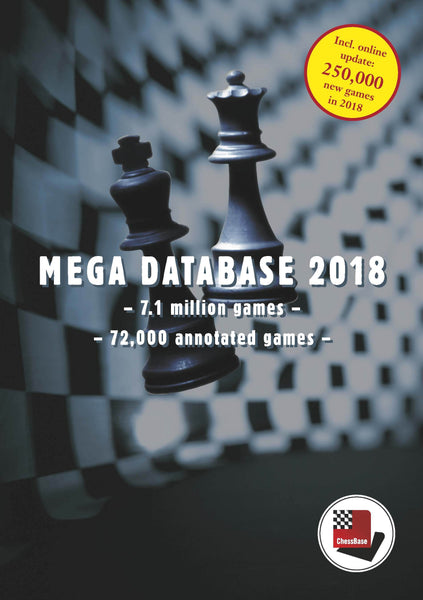 Mega Database 2018 (DVD) - Software DVD - Chess-House