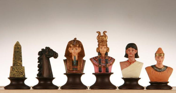Metal Egyptian Chess Set - Piece - Chess-House