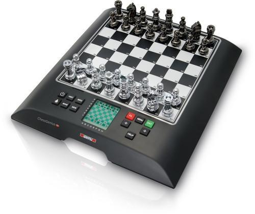 Millennium Chess Computer - Chess Genius PRO - SPECIAL EDITION with Leather Box