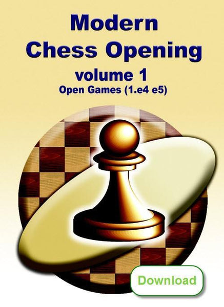 Modern Chess Opening 1: Open Games (1.e4 e5) (download) - Software - Chess-House