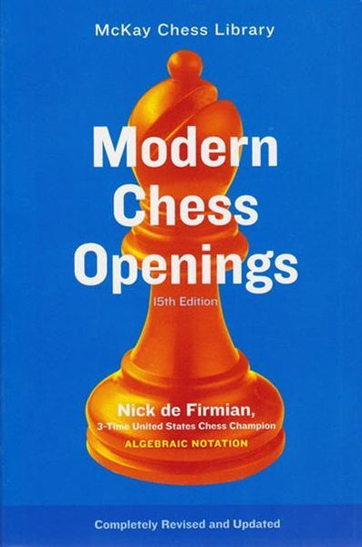 Modern Chess Openings 15th Ed - de Firmian - Book - Chess-House