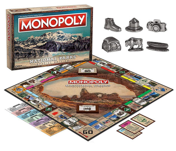 Monopoly Board Game - National Parks Edition