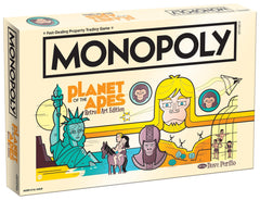 Monopoly Board Game - Planet of the Apes Retro Art Edition Game