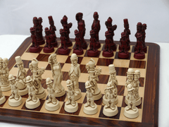 Movie Stars Chess Pieces by Berkeley - Cardinal Red - Piece - Chess-House