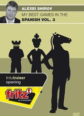 My Best Games in the Spanish Volume 3 - Shirov - Software DVD - Chess-House