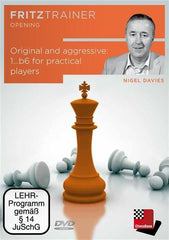 Original and Aggressive: 1...b6 for Practical Players - Davies - Software DVD - Chess-House