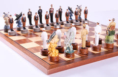 Pearl Harbor Chess Set - Chess Set - Chess-House