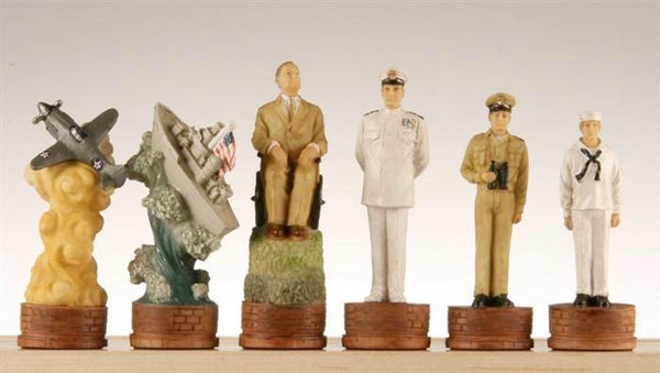 Pearl Harbor Chessmen - Piece - Chess-House
