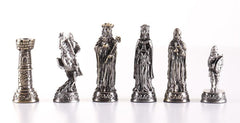 Pewter Medieval Chessmen - Piece - Chess-House