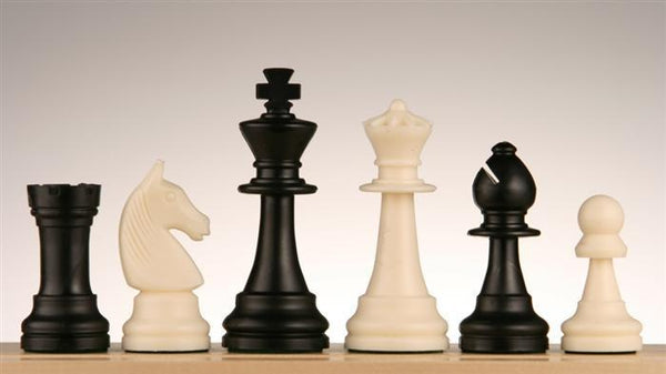 Plastic Chess Pieces No 6 - Piece - Chess-House