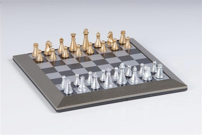 Plastic Magnetic Travel Chess Set with Carrying Case