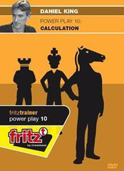 Powerplay 10 - Calculation - King - Software DVD - Chess-House