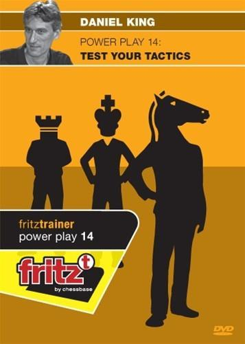 Powerplay 14 - Test Your Tactics - King - Software DVD - Chess-House