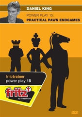 Powerplay 15  Practical Pawn Endgames (DVD) - King - Software DVD - Chess-House