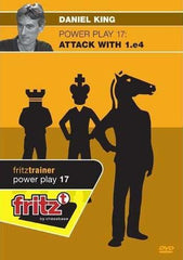 Powerplay 17 - Attack with 1.e4 - King - Software DVD - Chess-House