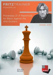 Powerplay 21 - A Repertoire for Black Against the Anti-Sicilians - King - Software DVD - Chess-House