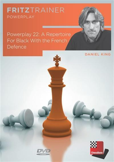 Powerplay 22 - A Repertoire for Black With the French Defence - King - Software DVD - Chess-House