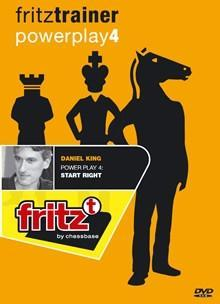 Powerplay 4 - Start Right - King - Software DVD - Chess-House