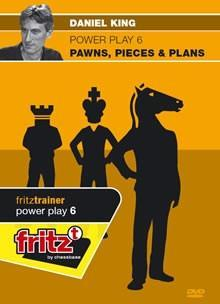 Powerplay 6: Pawns, Pieces and Plans (DVD) - King -  Chess Pieces