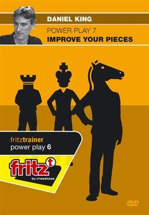Powerplay 7: Improve Your Pieces (DVD) - King - Software DVD - Chess-House