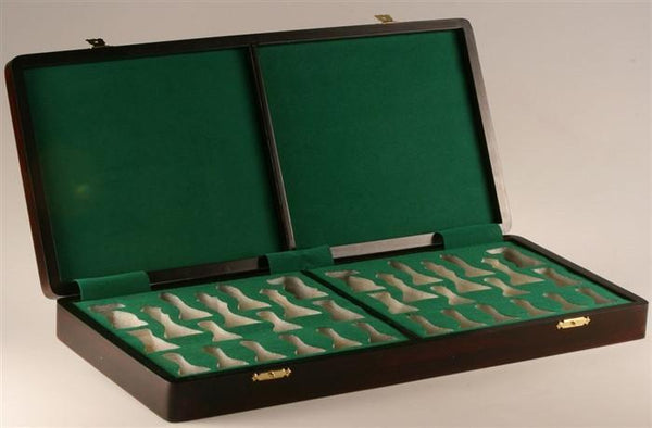 "Presentation Box in Rosewood (for most 3.75 to 4"" Pieces) - Box - Chess-House"