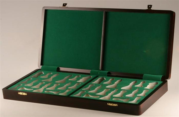 "Presentation Box in Rosewood (for most 4 to 4.25"" Pieces) - Box - Chess-House"