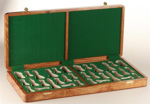 "Presentation Chess Box in Golden Rosewood (for most 4.25"" to 4.5"" pieces) - Box - Chess-House"