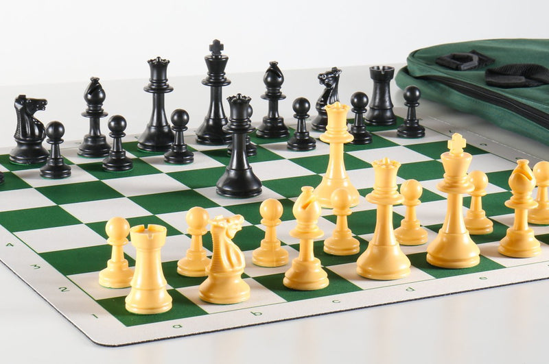 Quality Club Flex Pad Chess Set Combo