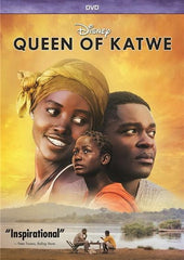 Queen of Katwe - DVD - Movie DVD - Chess-House